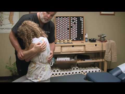 First Time Chiropractor Spinal Adjustment Demonstration by Austin Chiropractic Care