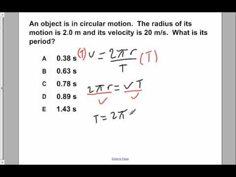 AP Physics B Uniform Circular Motion Presentation #15