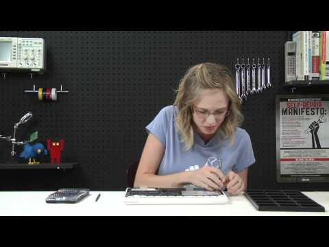 How To: Replace a Macbook Unibody (A1342) Upper Case