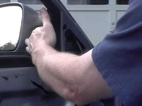 How To Install Replace Side View Mirror Pontiac Grand Prix 1AAuto.com