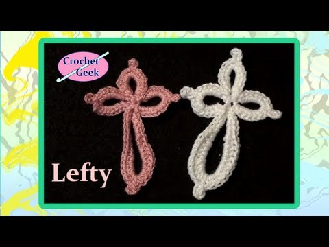 Eternity Cross Crochet Geek Left Hand Version