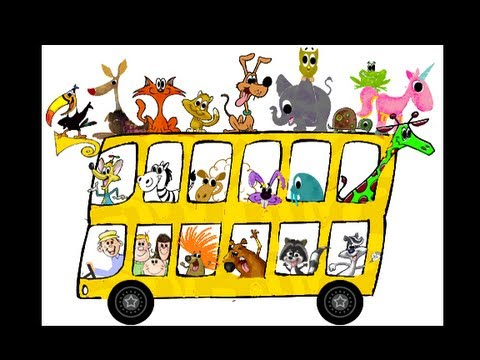 WHEELS ON THE BUS NURSERY RHYME SONG