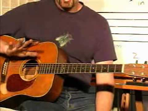 Guitar Lesson - How To Finger Pick in 4 Without a Flat Pick (Complete w/ Instructions)