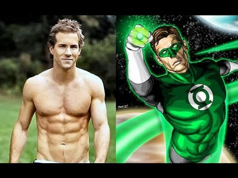 Ryan Reynolds Green Lantern Workout