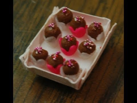 Valentine Swirl Truffles in Polymer Clay by Garden of Imagination