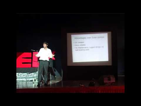 Efficient pedal powered machines: Praveen Vet at TEDxNITKSurathkal