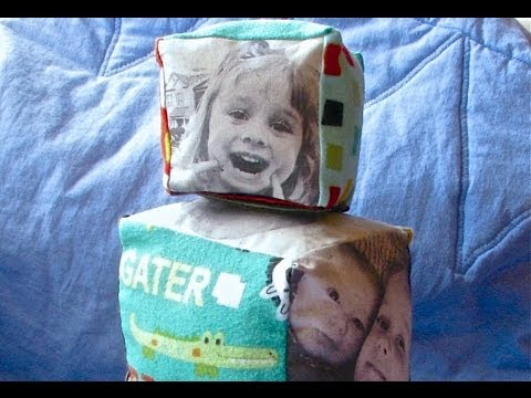 New Kid On the Block: Fabric Photo Blocks tutorial