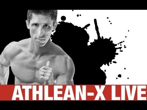 ATHLEAN-X Live!  Your Workout and Nutrition Questions Answered
