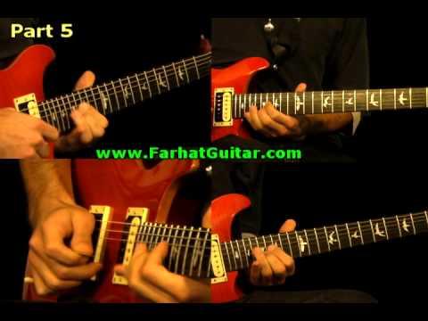 Holiday - Green Day Guitar Cover 8 www.FarhatGuitar.com