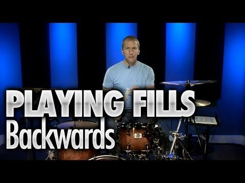 Playing Fills Backwards - Drum Lessons