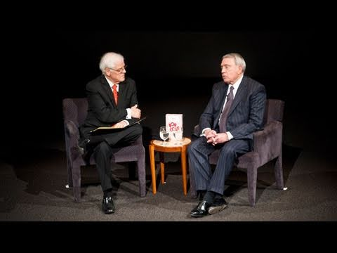 Dan Rather speaks about new media and the current crises in the Middle East.