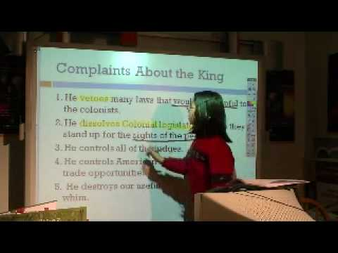A Kid's Guide to US Government: Complaints About the King