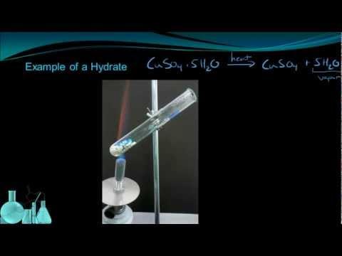 Chemistry 9.3 Hydrates