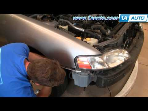 How To Install Replace Headlights Nissan Altima 00-01 1AAuto.com