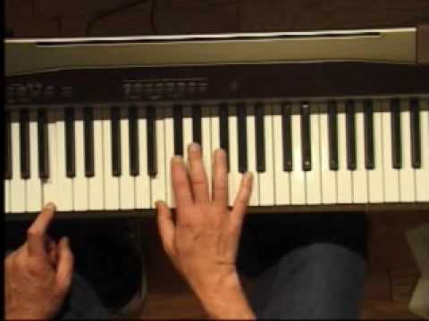 Piano Lesson - How to Play the B/Cb major scale (right hand)