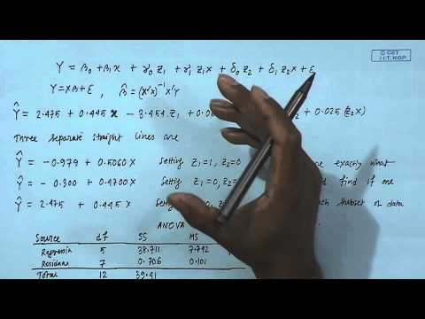 Mod-01 Lec-26 Lecture-26-Dummy Variables (Contd...2)
