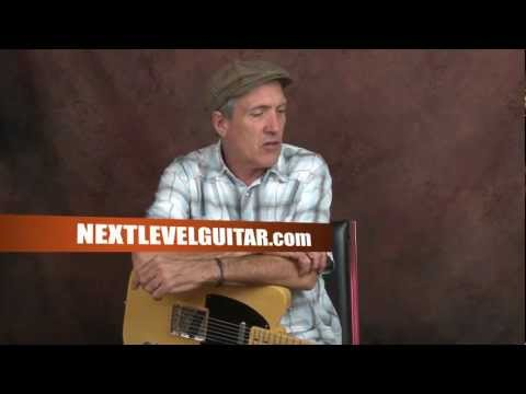 How to play Van Morrison inspired song doublestops guitar lesson Brown Eyed Girl R&B soul style