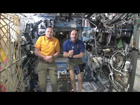 Station Crew Discusses Life In Space With News Media