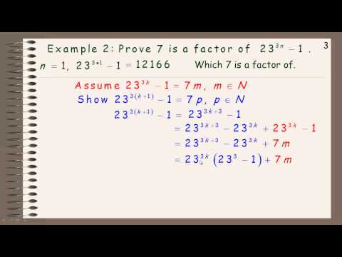 Applications of Mathematical Induction.mp4
