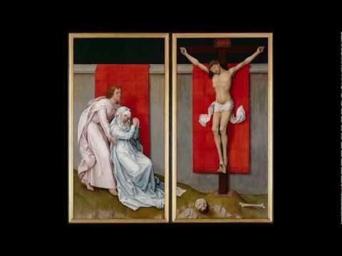 Rogier van der Weyden, The Crucifixion, with the Virgin and St. John the Evangelist..., c. 1460