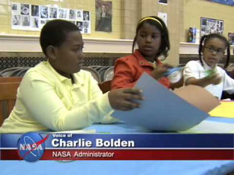 NASA Administrator Celebrates Science with Students
