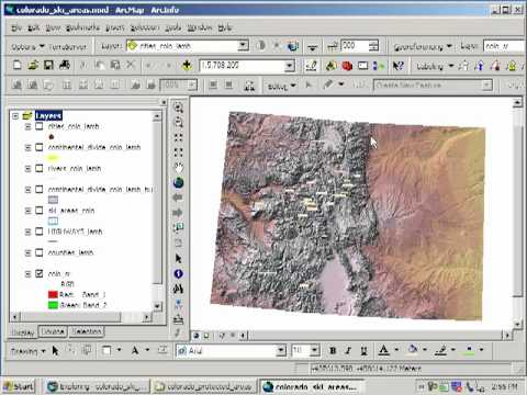 Siting a Ski Area in Colorado:  Lesson Using Spatial Analysis and GIS:  Chapter 2: