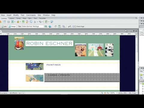 Adobe® Dreamweaver® CS3  USING BEHAVIORS TO ADD INTERACTIVITY   Inserting Rollover Images