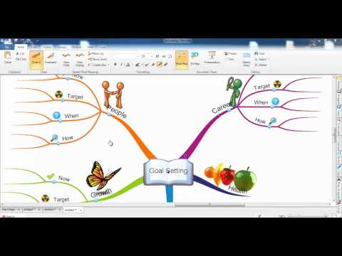 iMindMap 6 - Cut, Copy, Paste and Moving Branches