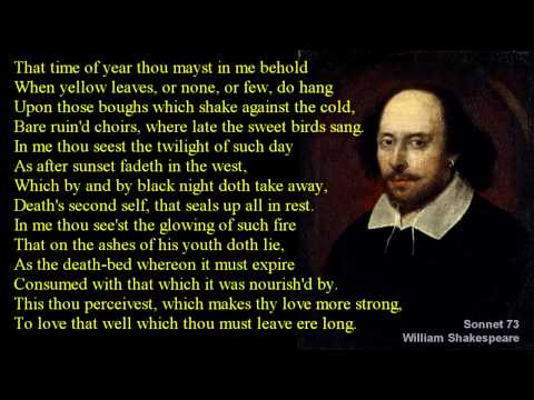 Shakespeare Sonnet 73 with text