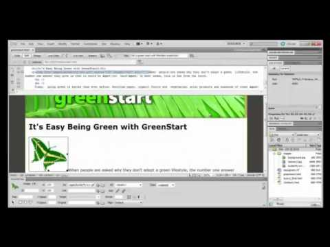 Dreamweaver Tutorial : Working with Images and CSS Layouts in Adobe Dreamweaver CS5