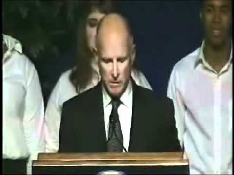 California Governor Jerry Brown's Inauguration Address: Jan. 3, 2011 - Part 1