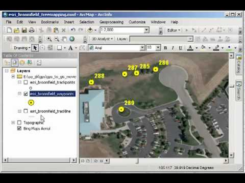 GPS to GIS: Mapping Field Data with ArcGIS Desktop 10: Symbolizing, Linking to Multimedia