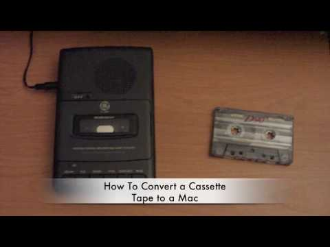 How To Convert a Cassette Tape to Your Mac