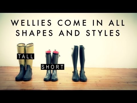 How to Wear Wellies