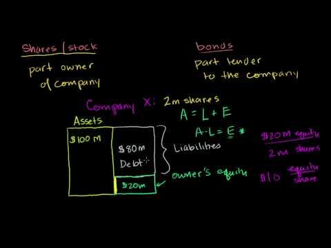 What it means to buy a company's stock