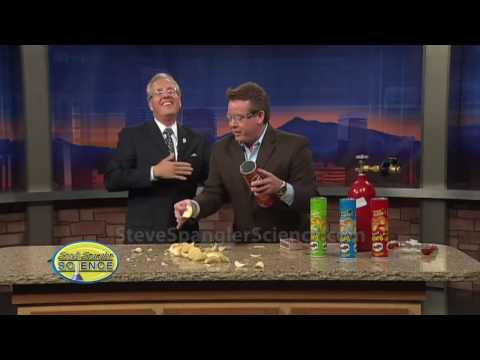 Exploding Pringles Can - Cool Science Demonstration