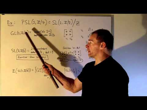 Group Theory:  The Simple Group of Order 168 - Part 1