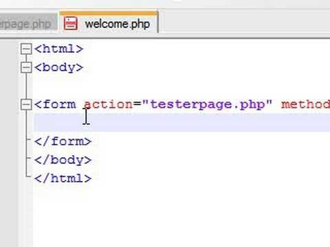 PHP Tutorial - 18 - Beginning Forms