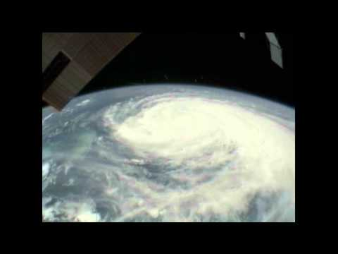 Space Station Cameras View Hurricane Irene as it Approaches the U.S.