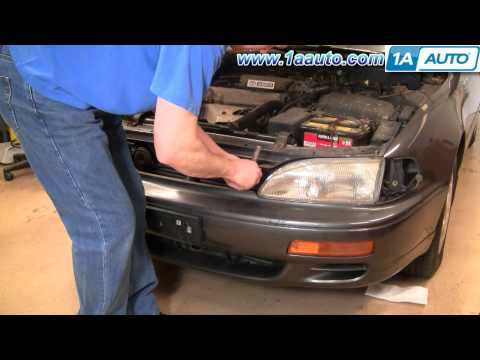 How To Install Replace Headlight and Bulb Toyota Camry 95-96 1AAuto.com