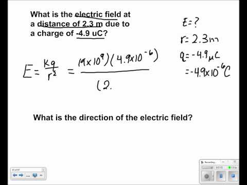 Electric Field and Potential Presentation #08