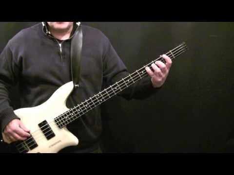 How To Play Bass Guitar To Teen Spirit - Nirvana - Beginner's Bass Lesson