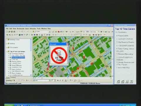 ArcGIS Desktop 9.3 Usability Demo - Part II