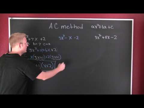 AC factoring method.mov