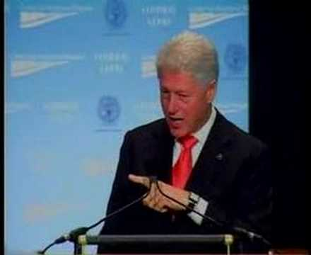 President Clinton at CAP's Common Good Conference Part 6