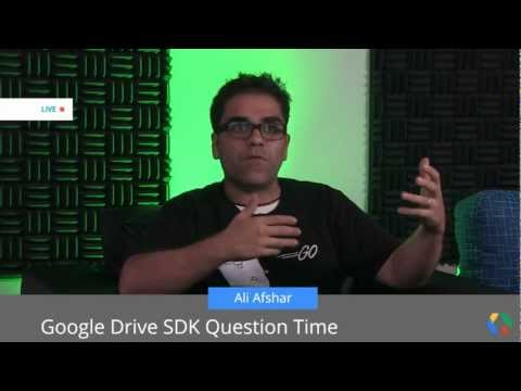 Google Drive SDK Tips and Tricks