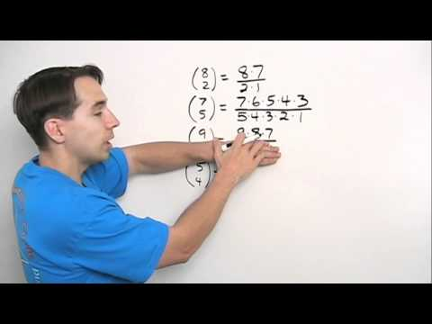 Art of Problem Solving: Computing Combinations Part 1