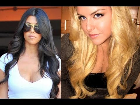 How To : Kardashian Curls ~ Bouncy Down Do