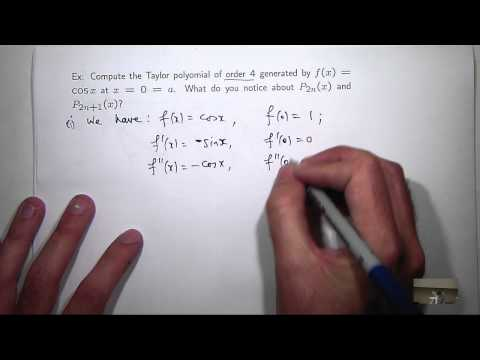 What is a Taylor polynomial? Chris Tisdell UNSW Sydney
