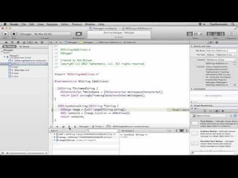 iOS Programming Tutorial | Using the Xcode Debugger